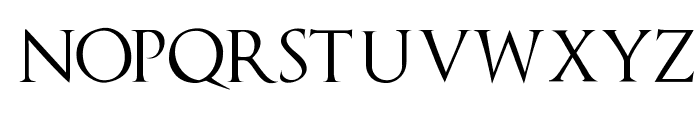 TrajanusBricks Font LOWERCASE