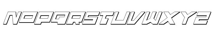 Trajia Shadow Italic Font UPPERCASE