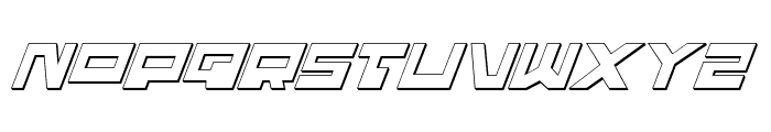 Trajia Shadow Italic Font LOWERCASE