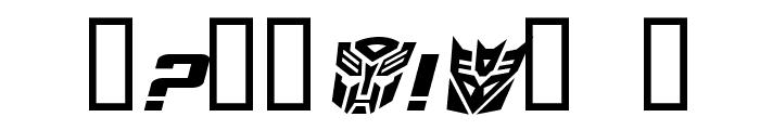 TransRobotics Extended Italic Font OTHER CHARS