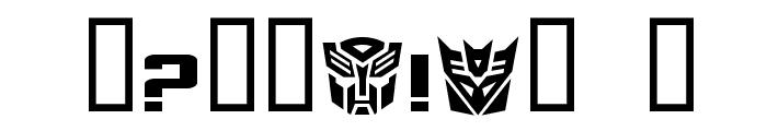 TransRobotics Extended Font OTHER CHARS