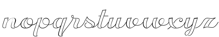 Transatlantic Cruise Demo Font LOWERCASE