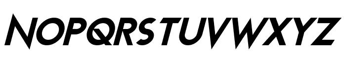Transmetals Italic Font UPPERCASE