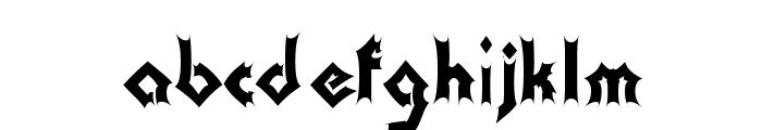 Transylvania Font LOWERCASE