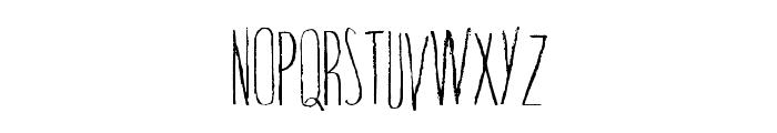 TrapOne-Regular Font LOWERCASE