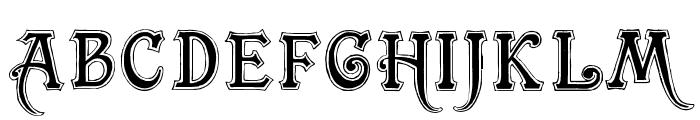 TrashBarusa Font UPPERCASE