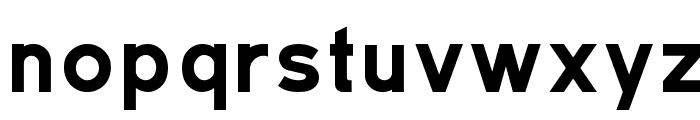 TratexSvart Font LOWERCASE