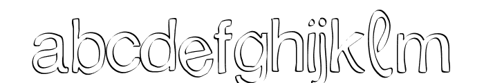 Trattopenlife Font LOWERCASE