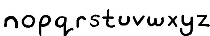 Travis Sans MS Font LOWERCASE