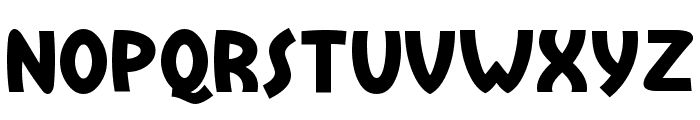 Treasure Island Font UPPERCASE