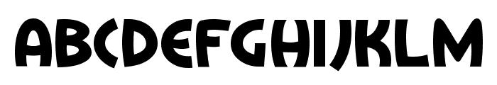 Treasure Island Font LOWERCASE