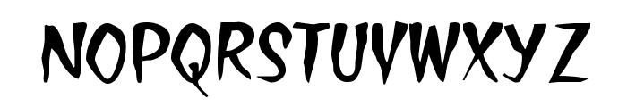 Treasure Font UPPERCASE