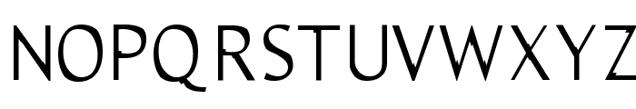 Trebble Font UPPERCASE