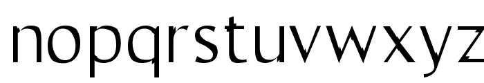 Trebble Font LOWERCASE