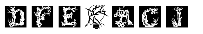 TreeLike Font OTHER CHARS