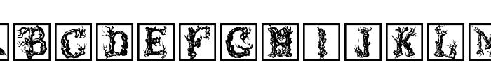 TreeLike Font UPPERCASE
