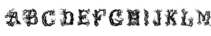 TreeLike Font LOWERCASE