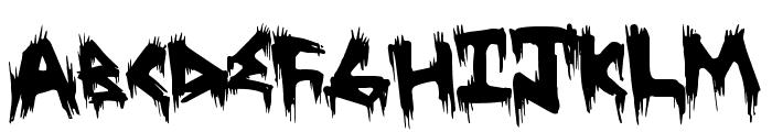 TreehausHorror Font LOWERCASE
