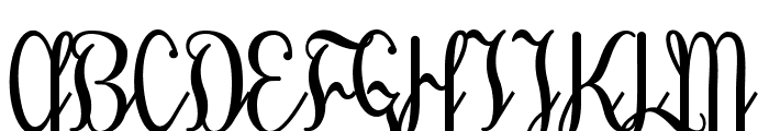 TreehouseDEMO Font UPPERCASE