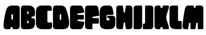 Tregger Font UPPERCASE