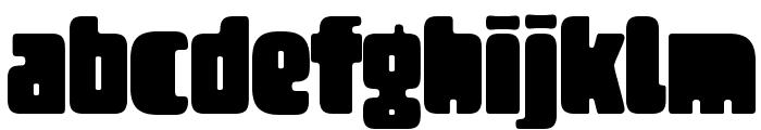 Tregger Font LOWERCASE