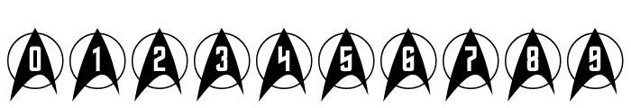 Trek Arrowcaps Font OTHER CHARS