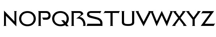 Trek Movie Font UPPERCASE