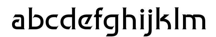 Trek Movie Font LOWERCASE
