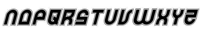Trek Trooper Academy Italic Font LOWERCASE