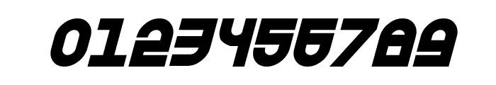 Trek Trooper Bold Italic Font OTHER CHARS