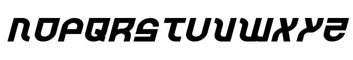 Trek Trooper Expanded Italic Font UPPERCASE