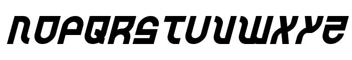 Trek Trooper Italic Font UPPERCASE