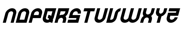 Trek Trooper Italic Font LOWERCASE