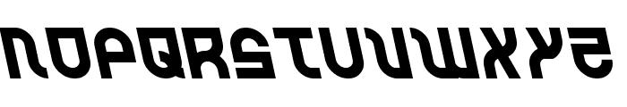 Trek Trooper Leftalic Font UPPERCASE