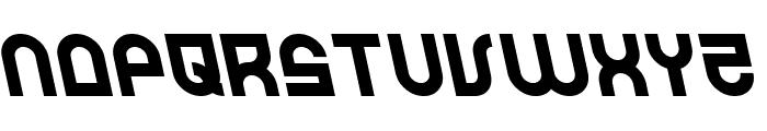 Trek Trooper Leftalic Font LOWERCASE