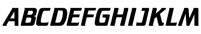 Trekker Regular Font UPPERCASE