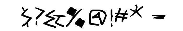 Tremolo-DemiBold Font OTHER CHARS