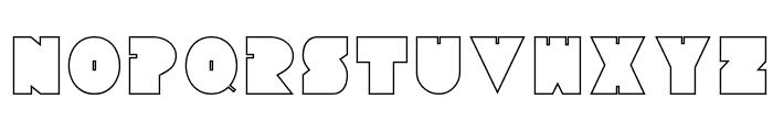 Tresdias Font UPPERCASE