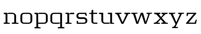 Tretton Serif Regular Font LOWERCASE