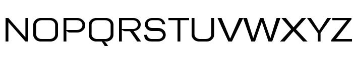 Tretton Font UPPERCASE