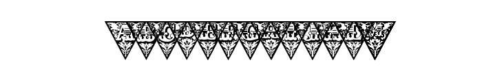 TriangularHD Font LOWERCASE