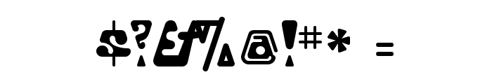 Triangulor Font OTHER CHARS