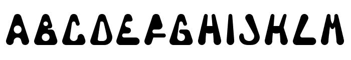 Triangulor Font UPPERCASE