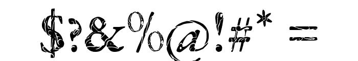 Tribal Garamond Font OTHER CHARS