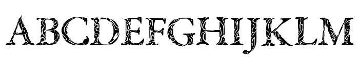 Tribal Garamond Font UPPERCASE
