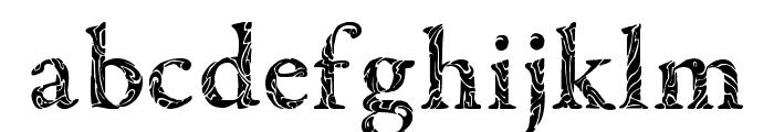 Tribal Garamond Font LOWERCASE