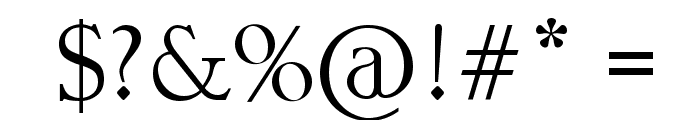 Tribal Script Font OTHER CHARS
