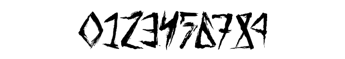 Tribal Threat Font OTHER CHARS
