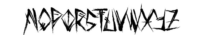 Tribal Threat Font LOWERCASE