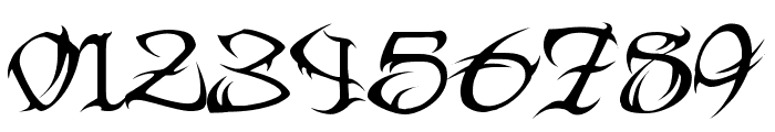 Tribal Two Font OTHER CHARS